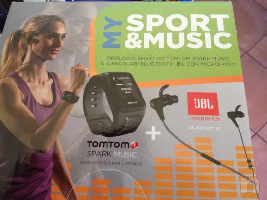 Tom tom spark music e auricolari jbl foto-4815