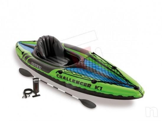 Kayak monoposto gonfiabile INYEX foto-4952