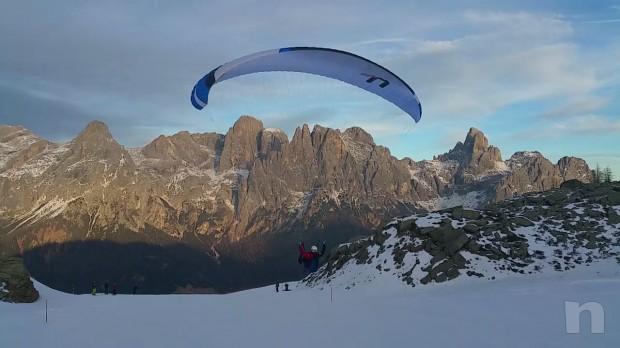 Parapendio Aircross U Prime taglia M (75-95 kg) + imbrago foto-5213