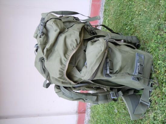 Zaino Softair militare 100Lt. OD foto-668
