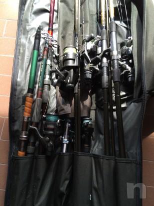 attrezzatura completa di pesca foto-5259