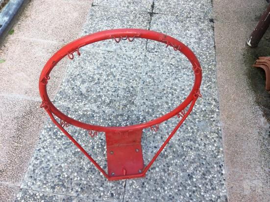 Canestro  basket regolamentare in buone condizioni foto-5324