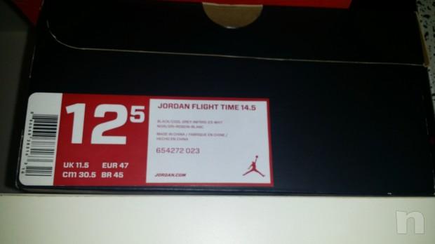 "Scarpe basket modello ""Nike Jordan flight time 14,5"" -  taglia 47 foto-9552"