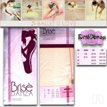 Calze danza classica microfibra calza studio rosa collant foto-5409