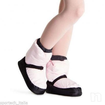 Bloch bootie warmup scalda piedi punte danza classica foto-9592