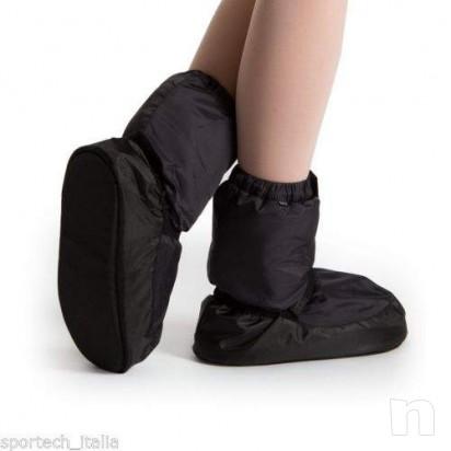 Bloch bootie warmup scalda piedi punte danza classica foto-9590