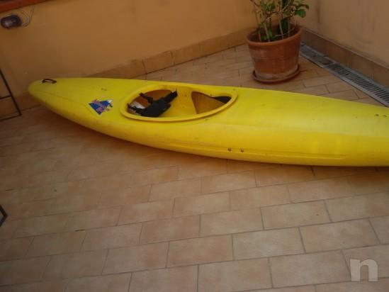 Vendo canoa pyranha mountain bat foto-5458