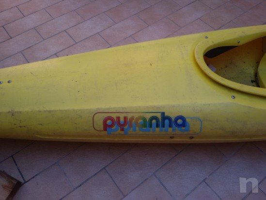 Vendo canoa pyranha mountain bat foto-9671