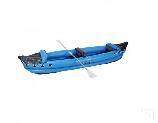 kayak gonfiabile  2 POSTI 320 X 70 CON PAGAIA 2 COLORI (NUOVE)  foto-5459
