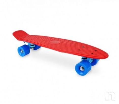 """Skateboard Cruiser 22"""" Retro Completo Board MINICRUISER street old school foto-9675"""