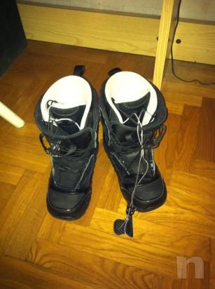Vendo scarponi snowboard da donna usati foto-5624