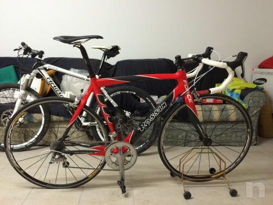 Bici rossin tutta carbonio foto-564
