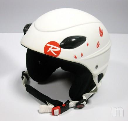 Casco Sci Snowboard donna Rossignol bianco tg. 54 foto-5803