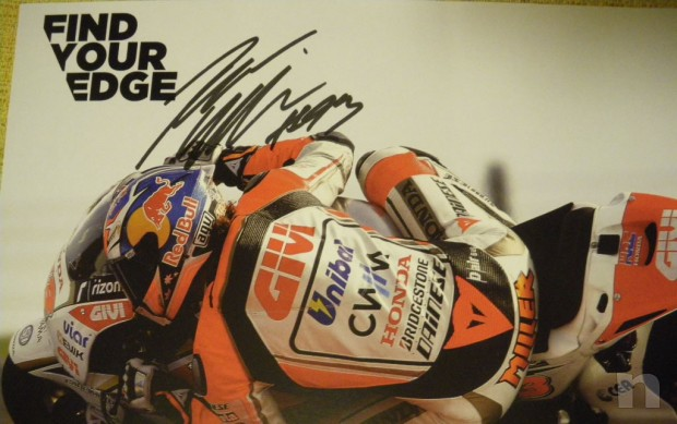 Autografo Jack Miller, pilota Honda moto GP foto-10362