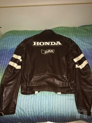 Giubbotto in pelle gas Honda  foto-10405