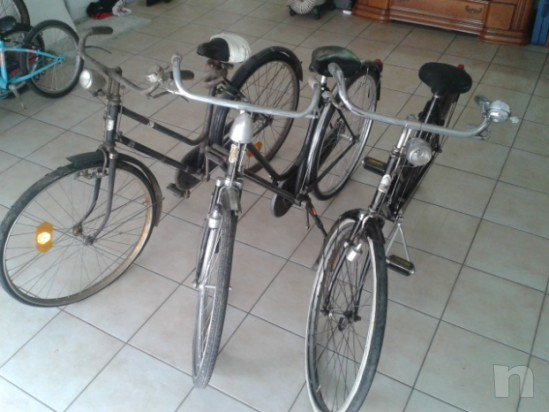 Per restauratori o amanti del genere vendo n 3 biciclette della nonna foto-10484