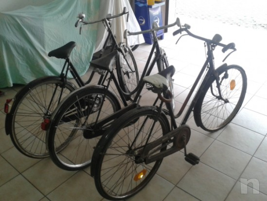 Per restauratori o amanti del genere vendo n 3 biciclette della nonna foto-10485