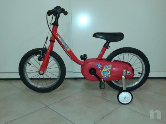 Bicicletta del 14 adatta a bimbi dai 2/3 anni in su' foto-10549