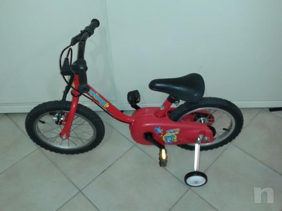Bicicletta del 14 adatta a bimbi dai 2/3 anni in su' foto-10550