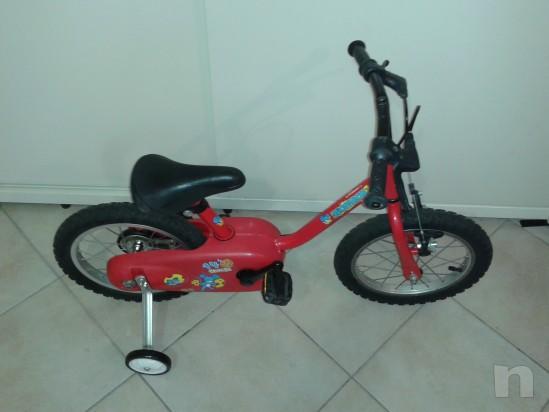 Bicicletta del 14 adatta a bimbi dai 2/3 anni in su' foto-10548