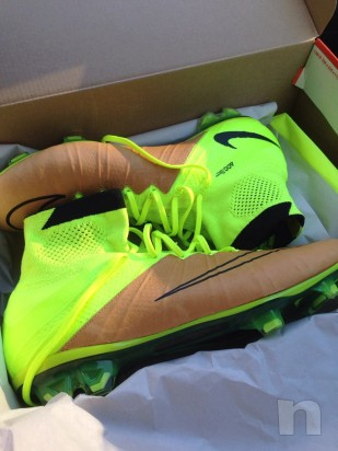 Mercurial Superfly con tomaia in pelle foto-10741