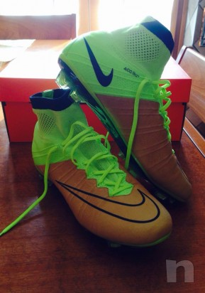 Mercurial Superfly con tomaia in pelle foto-10740