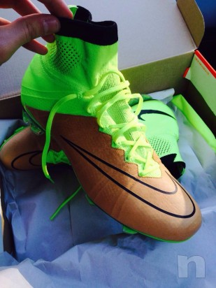 Mercurial Superfly con tomaia in pelle foto-6019