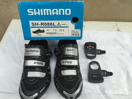 Scarpe per bici corsa e pedali foto-6108