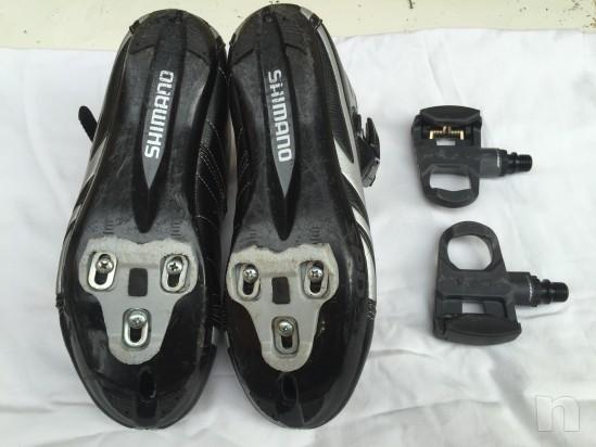 Scarpe per bici corsa e pedali foto-10872