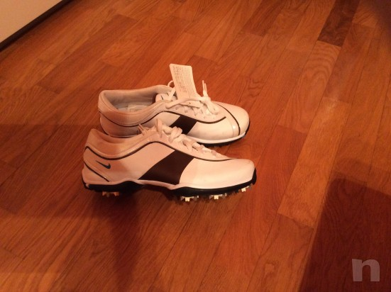 nuove e mai usate splendide scarpe da golf Nike numero 38 foto-11033