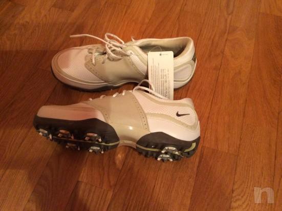 nuove e mai usate splendide scarpe da golf Nike numero 38 foto-11032