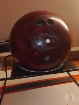 Palla da bowling vintage COLUMBIA 300 foto-6226