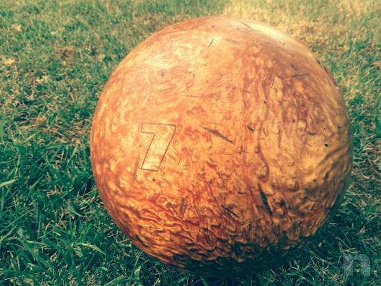 Palla da bowilg  numerata usa adatta alle dita di un ragazzino  foto-11068