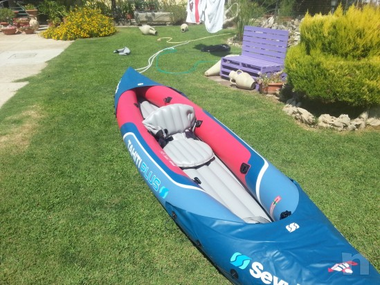 Canoa kayak gonfiabile foto-6286