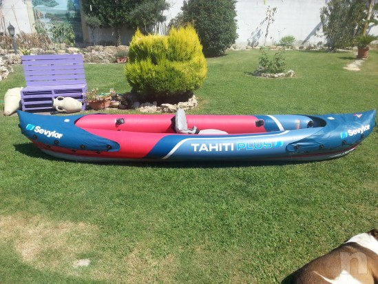 Canoa kayak gonfiabile foto-11189