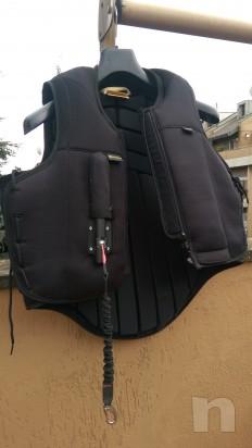 Vendo Air Jacket con airbag Tg M usato una volta foto-6378