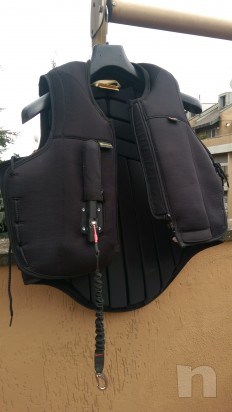 Vendo Air Jacket con airbag Tg M usato una volta foto-11345