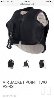 Vendo Air Jacket con airbag Tg M usato una volta foto-11346