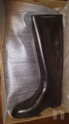 Stivali da equitazione AIGLE n. 44, come nuovi  foto-6382