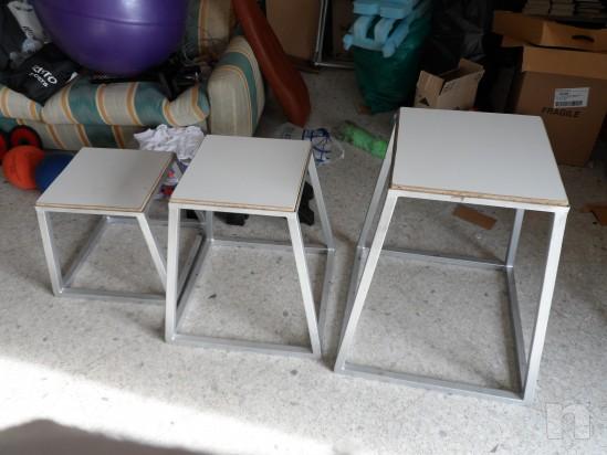 Plyometric box - step allenamento pliometria foto-6566