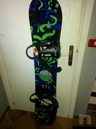 snowboard burton valigia burton boots rampant  burton , altro + omaggi  foto-661
