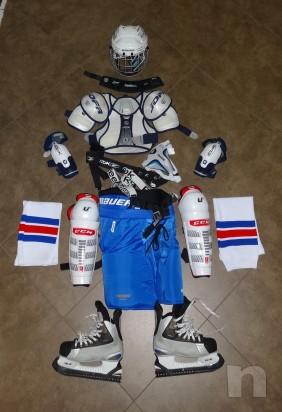 attrezzatura completa per hockey ghiaccio foto-6633