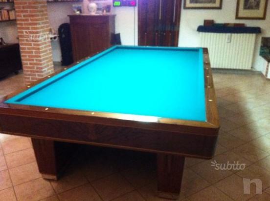 Tavolo da Biliardo mari professionale usato foto-12741