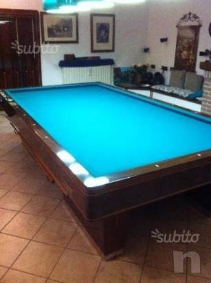Tavolo da Biliardo mari professionale usato foto-12739