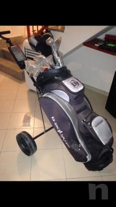 Kit nuovo e completo da golf marca b-square foto-7287