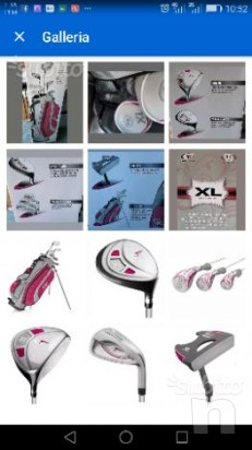 Set golf donna NUOVO Top-flite XL 10. sacca mazze foto-13114