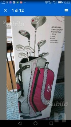 Set golf donna NUOVO Top-flite XL 10. sacca mazze foto-7293
