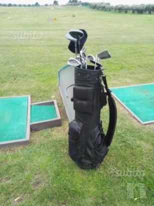 Set da golf ferri e legni, mazze da golf con sacca foto-13119