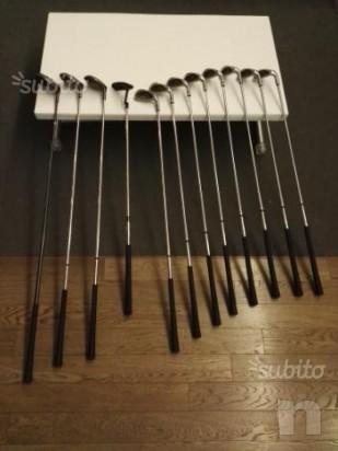 Set da golf ferri e legni, mazze da golf con sacca foto-13120