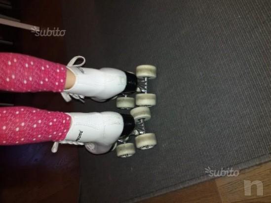 Pattini artistica pattinaggio bambina a rotelle 32 foto-13123